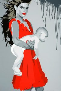 "Silvia Papas: ""Single mother"", www.galleri-pingvin.no"